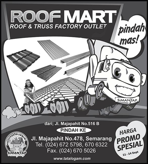 Roofmart Semarang Pindah