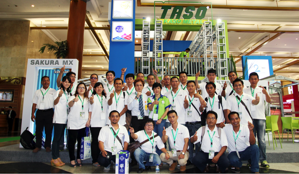 Bersama Tim Sales SiMantap dari seluruh Indonesia